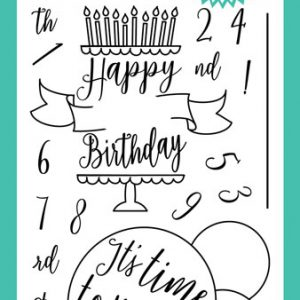 Time to Party Stamp Set