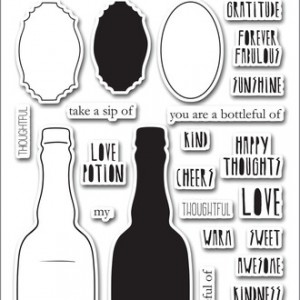 Bottleful Of Clear Stamp by Altenew