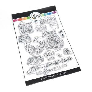 Catherine Pooler Designs Beautiful Ride Stamp and Coordinating Die