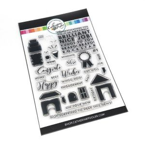Catherine Pooler Designs Kudos To You Stamp