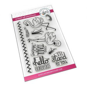 Catherine Pooler Designs Stand Tall Stamp