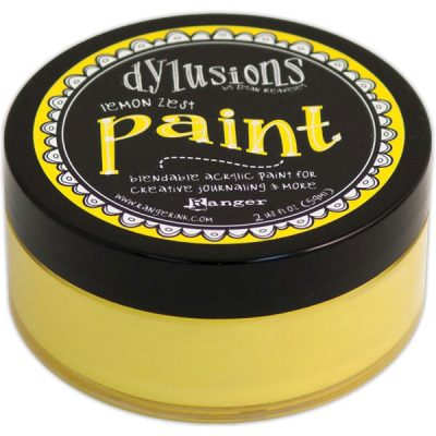Dylusions Lemon Zest Paint