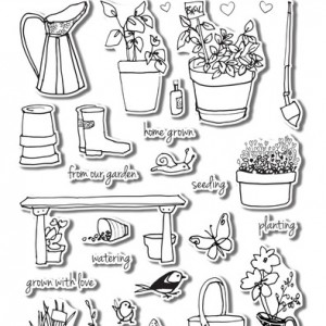 Garden Grow Stamp Set by Altenew