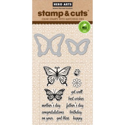 Butterfly Stamp And Cut