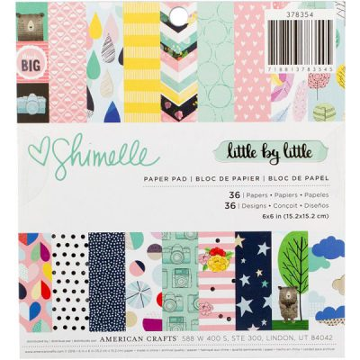 Shimelle Little by Little Paper Pad