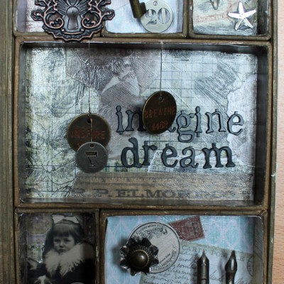 Idea-Ology Mini Configurations Shadow Box Book