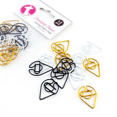 Geotag Paper Clips by Freckled Fawn