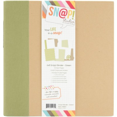 Scrapbook Album Green
