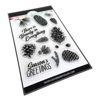 CPD-Pinecone-Greetings-Stamp-Set