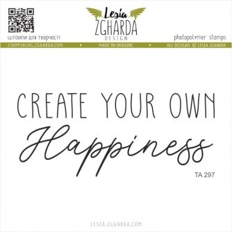Lesia-Zgharda-Designs-Create-Your-own-happiness-TA297