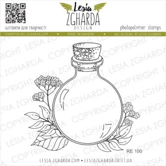 Lesia-Zgharda-Designs-bottle-stamp-with-flower-RE100