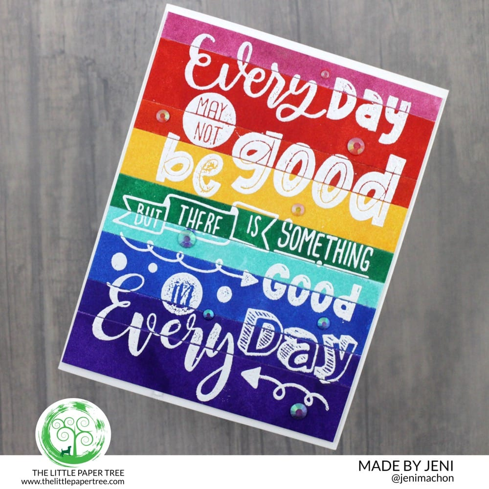 Blog-Party-Rainbow-Stripes-Embossed-Sentiment