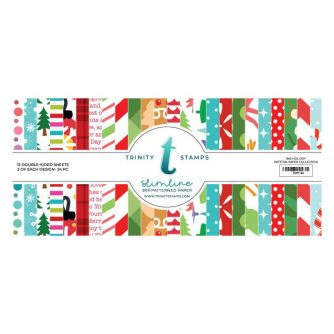 Trinity-Stamps-Slimline-Paper-Pad-Holiday-Patterns